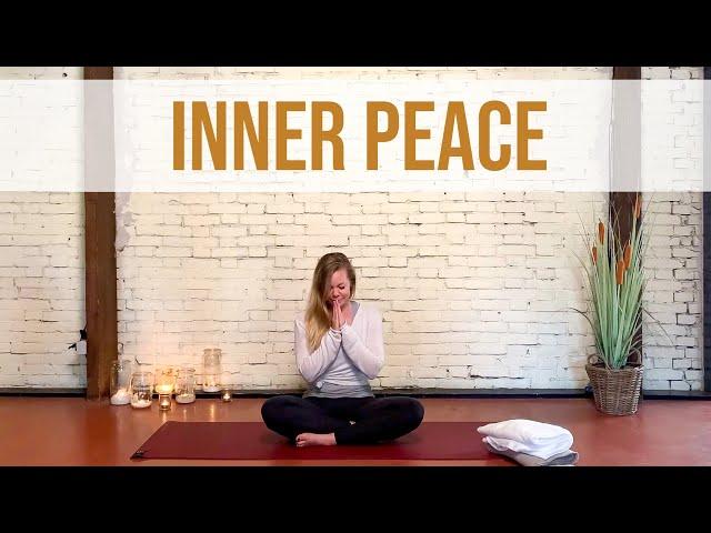 Effectieve oefeningen tegen innerlijke onrust (11 min) | Yoga met Sarah