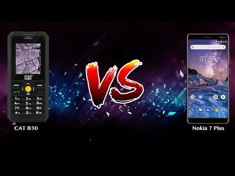 CAT B30 vs Nokia 7 Plus - Phone battle