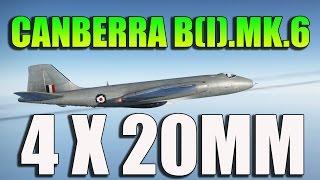 War Thunder! CANBERRA With GUNS! War Thunder 1.45