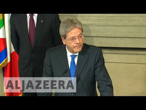 Italy: President names Paolo Gentiloni new prime minister