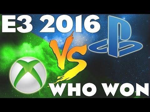 Sony vs Microsoft E3 2016 - Who Won? PS4 vs Xbox One Console War