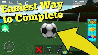 Soccer Quest (Easiest Way) Build A Boat For Treasure ROBLOX