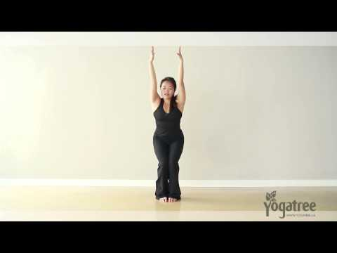 How to Do a Chair Pose - Step by Step Breakdown Yoga Tutorial