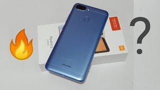 Redmi 6 (3GB/32GB) Unboxing & Overview In Hindi