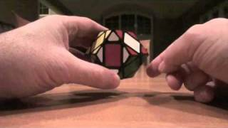 3 layer rhombic dodecahedron parity solution