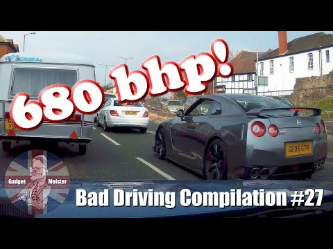 Bad Drivers UK Dash Cam Compilation #27