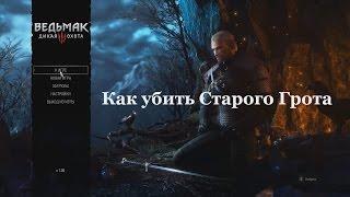 Ведьмак 3. Как убить Старого Грота