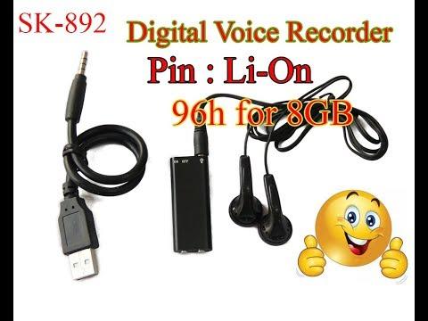 Hướng Dẫn USB Ghi Âm Chuyên Dụng SK-892