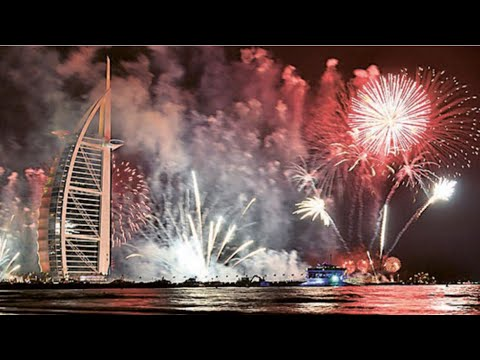Happy new year 2020 |  New year celebration in Dubai | 2020 | Burj Al Arab's New Years Eve Fireworks