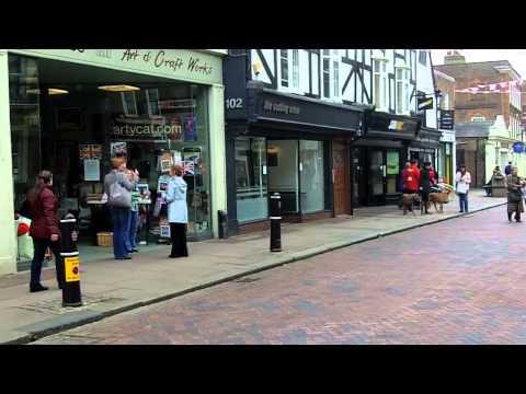 Town Centre, Rochester, Kent.