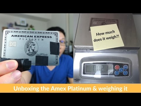 Amex Platinum Metal Card Unboxing + weighing it vs. Chase Sapphire Reserve & Ritz-Carlton