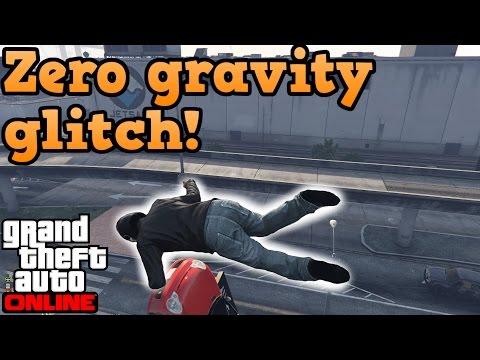 Zero gravity glitch in GTA online!