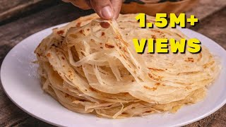 Kerala Layered  Parotta, Detailed Video | ലെയർ പൊറോട്ട എളുപ്പത്തിൽ ഉണ്ടാക്കാം|Adukkala Magic Recipes