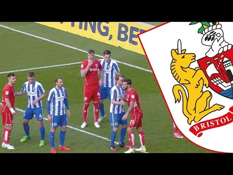 Highlights: Brighton & Hove Albion 0-1 Bristol City