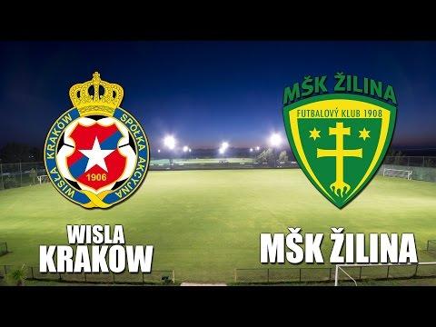 Záznam: Wisła Kraków - MŠK Žilina 2:1 (1:0)