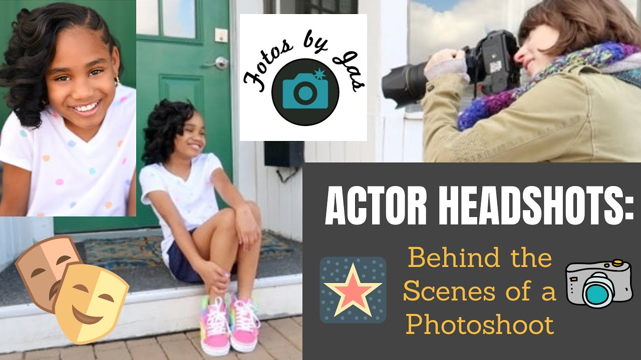 Behind the Scenes of a headshot session!