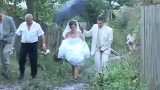Свадьба и русские дороги! Wedding, Russian roads!