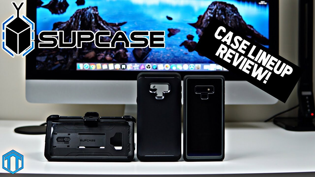 huge discount b5c82 4a8c8 Samsung Galaxy Note 9 Supcase Case Lineup!
