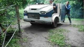 Citroën HY re-carrossé par HEULIEZ façon Monster  Garage à la Française.....