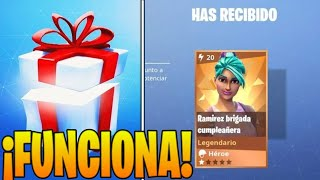 HOW TO GET FORTNITE'S BIRTHDAY SKIN [STILL WORKING]
