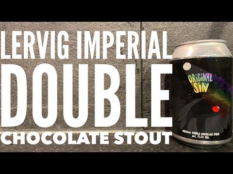 Lervig Original Sin Imperial Double Chocolate Stout , Lervig Aktiebryggeri , Norwegian Craft Beer