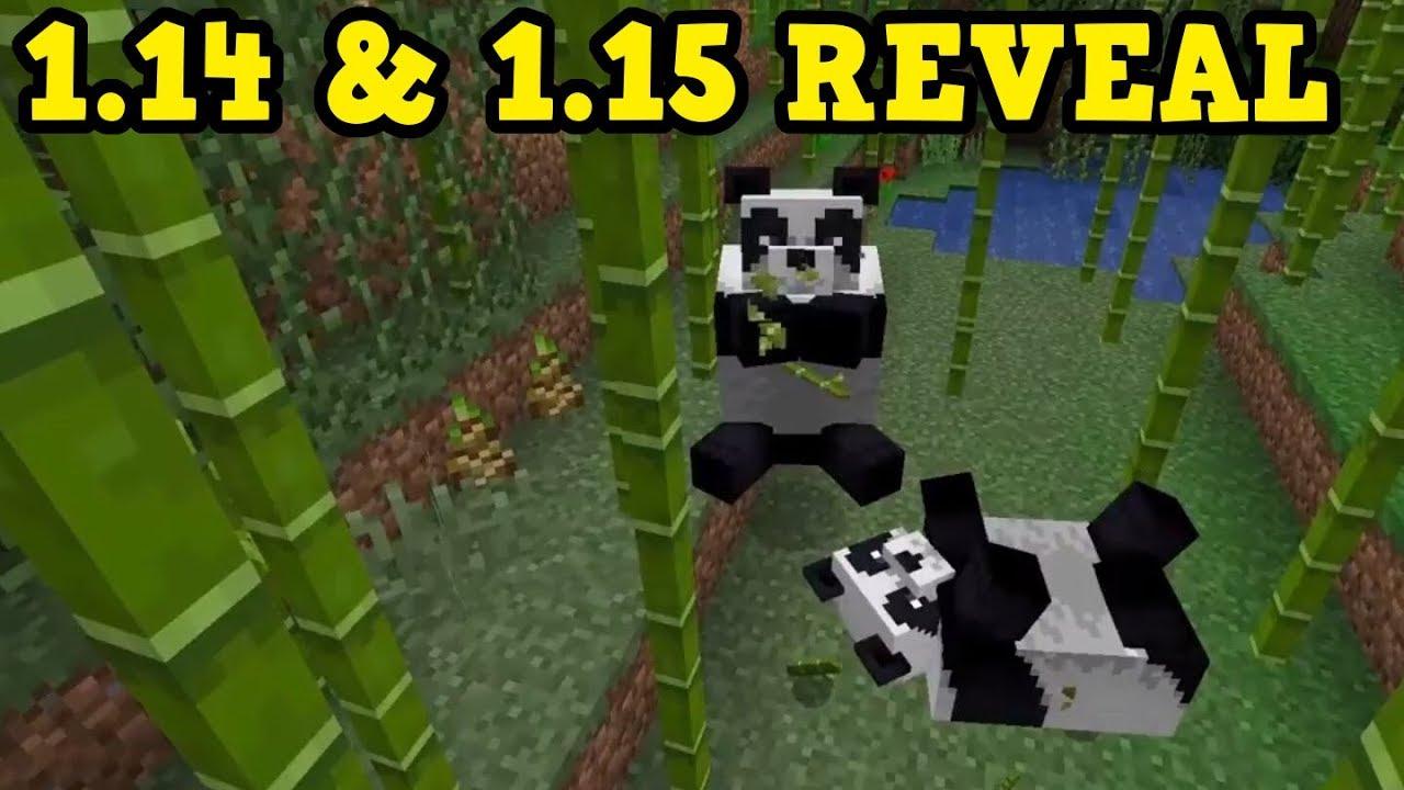 Minecraft 1 14 Village Pillage Update Reveal Youtube