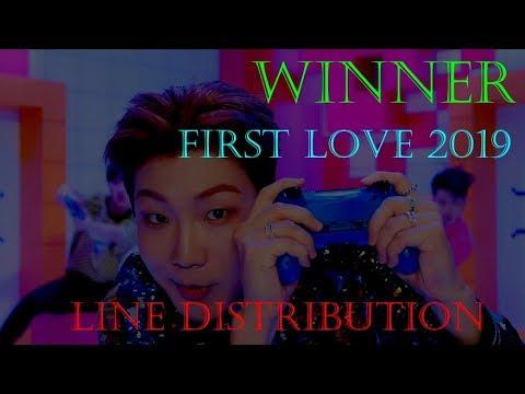Winner 'First Love (2019)' Line Distribution