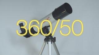 Огляд телескопа Veber 360/50