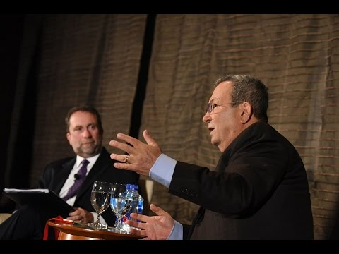A Candid Conversation with Ehud Barak