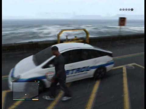 GTA V: Security Patrol Car Spawn Location
