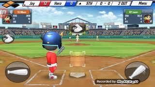 Baseball star (21-0) (5) home run