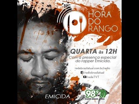 [AO VIVO] Emicida na Hora do Rango da Rádio Brasil Atual