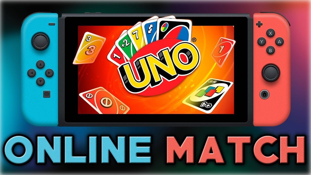 UNO | ONLINE MATCH Gameplay | Nintendo Switch - YouTube
