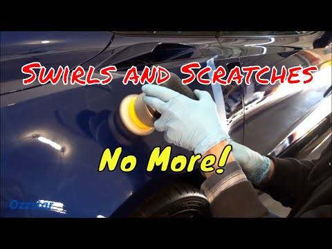 Removing Paint Scratches!  Simple Techniques and Tips -PROBLEM solved