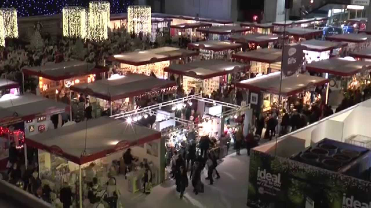the ideal home show at christmas 2014 youtube