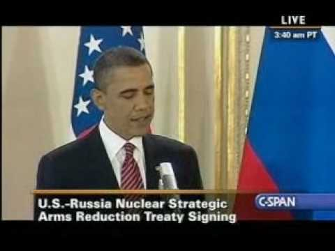 US Russia Prague (1) - Pr. Obama