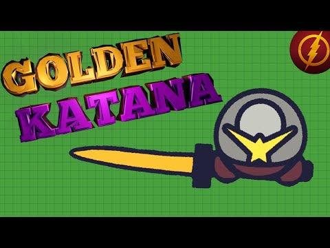 MooMoo.io New GOLD WEAPONS! // Golden Katana (Moomoo.io update)
