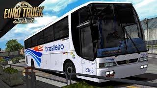 ETS 2 – MOD BUS   VISSTA BUS   BRASILEIRO   Vitória da Conquista / Porto Seguro - EAA