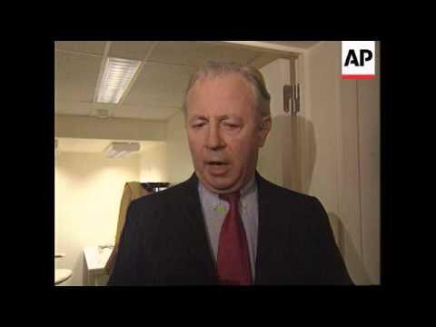 Belgium - Jacques Santer on Tony Blair victory