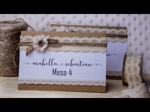 Rustic Wedding Place Cards – Cricut | Rustic Place Card Tags DIY