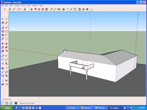 Image gallery l shaped roof designs for Online roof design tool