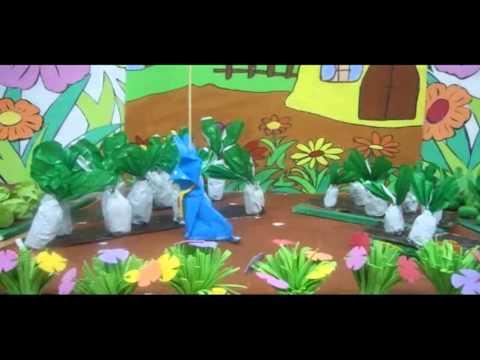 Vườn rau của thỏ út