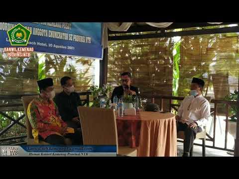 Breafing Oleh Tim Kemenag Pusat Kepada Koordinator dan Anggota Enumerator Se Provinsi NTB