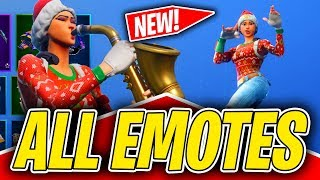 *NEW* NOG OPS SKIN SHOWCASE WITH ALL FORTNITE DANCES & NEW EMOTES! (Fortnite Season 7)