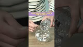 Cara mudah membuat hand sanitazer dengan bahan alkohol dan gel lidah buaya