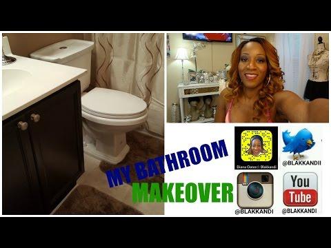(DIY) AMAZING !!! Bathroom Makeover