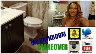 (DIY) AMAZING !!! Bathroom Makeover