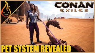 Pet Taming System Revealed Conan Exiles 2018