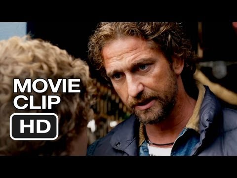 Chasing Mavericks Movie CLIP - Train Me (2012) - Gerard Butler Movie HD