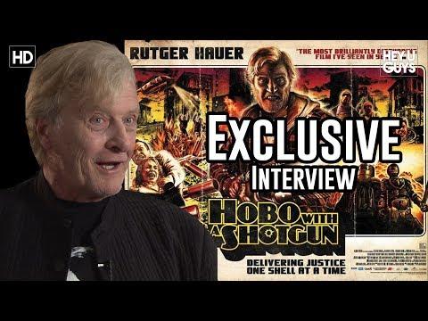 Blade Runner's Rutger Hauer  Hobo with a Shotgun Exclusive